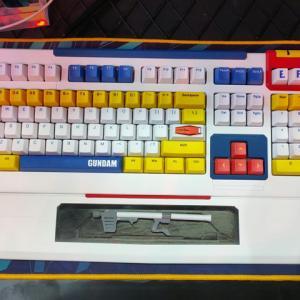 ikbc、ホビー感がより強くなった機動戦士ガンダム公式コラボのメカニカルキーボード『RX-78-2 2.0』