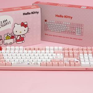 Akko、ハローキティ公式ライセンスのメカニカルキーボード『3108 V2 Hello Kitty』