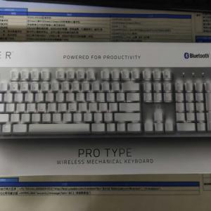 Razer 『Razer Pro Type』 画像など ~ゲーム向けではなく一般向けのワイヤレスメカニカルキーボード