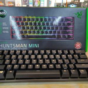 Razer 『Razer Huntsman Mini』 レビューチェック ~60%レイアウトのゲーミングメカニカルキーボード