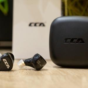 CCA 『CCA CX10』 レビューチェック ~4BA+1DDハイブリッドドライバーの完全ワイヤレスイヤホン