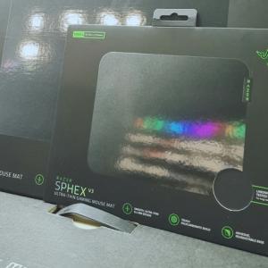 Razer、さらに薄くなったシートタイプのゲーミングマウスパッド『Razer Sphex V3』