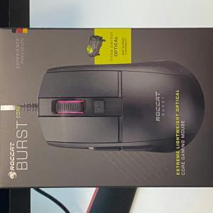 ROCCAT 『Burst Core』 レビューチェック ~低価格で光学スイッチ採用の軽量ゲーミングマウス