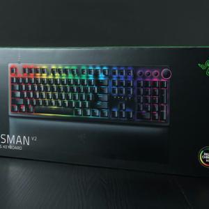 Razer、8000Hz対応で世界最速を謳う第2世代のゲーミングメカニカルキーボード『Razer Huntsman V2』