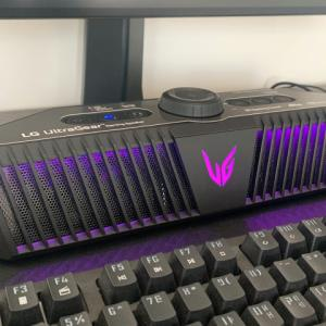 LG、UltraGearシリーズから登場した実質サウンドバーのポータブルゲーミングスピーカー『GP9』