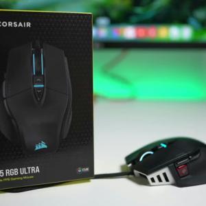 Corsair、最新のパーツと技術を数多く採用したFPS向け?のゲーミングマウス『M65 RGB ULTRA』