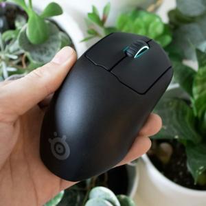 SteelSeriesの軽量ワイヤレスゲーミングマウス『Prime Mini Wireless』の分解・実重量レポート