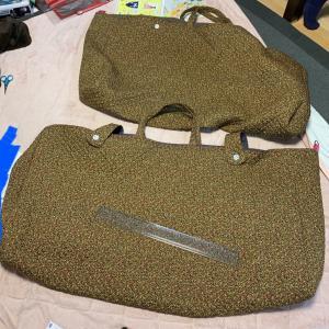 大きな袋、縫いました
