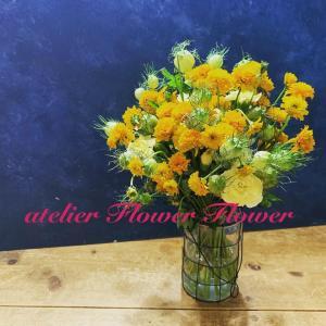 夏色の花束を作りましょう