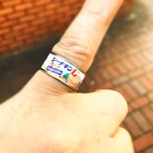 指輪貰った