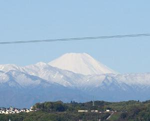 2020年4月の富士山