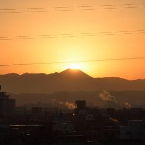2019年2月の富士山