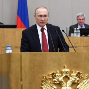 ロシアの憲法修正と外交政策