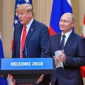 ヘルシンキでのトランプ大統領によるプーチン大統領への危険な宥和
