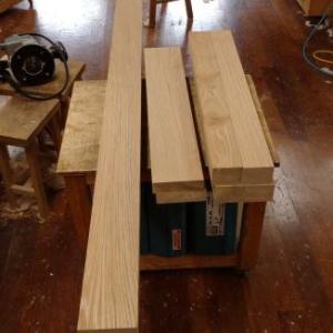 タモダイニングテーブル 製作