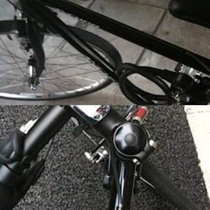 自転車塗装10年後