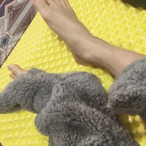 冬の暖房対策 Soomloom 寝袋用マットと靴下