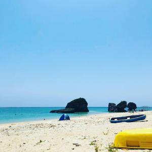 沖縄の海~!
