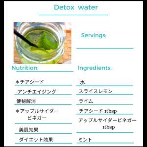 免疫力アップ!簡単デトックスウォーターレシピ。