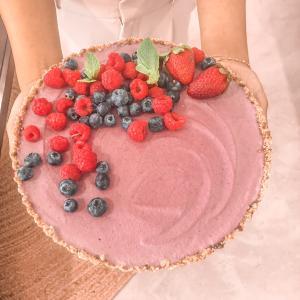 ヴィーガンローストロベリーケーキ