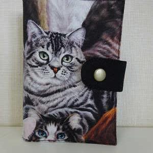 ★猫柄 カードケース★