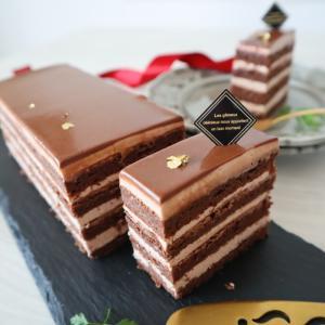 ザ!って感じのチョコレートケーキ