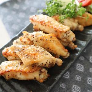 (おかずレシピ)鶏手羽中のペッパーマヨグリル