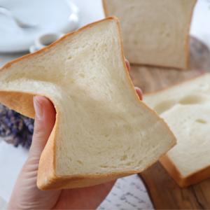 (パンレシピ)ミルク食パン
