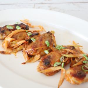(レシピ)牡蠣の豆板醤ケチャマヨソテー