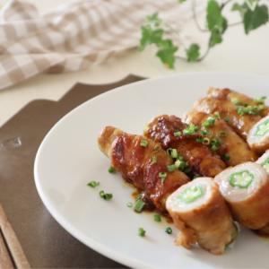 (レシピ)カレー風味で美味しい♪オクラ豚肉巻き照り焼き