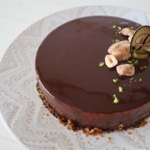友だちの旦那さんのケーキの試作♪