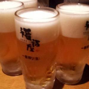 ビールのおいしい季節です