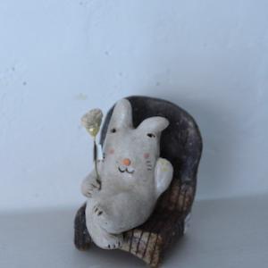 陶のお人形