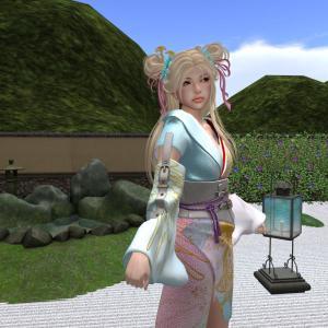 *:..Silvery K..:*Phoenix Kimono(Female)Pink