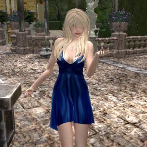 * Harmonia Blue Cherish Roleplay - Maitreya Hourglass Freya