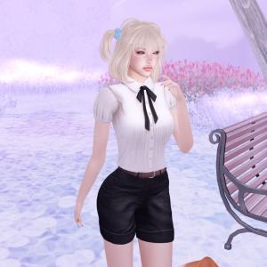 The Secret Store - Mary Pleated Shirt - Milk