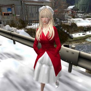*COCO*_CoatDressWithTulle_Red