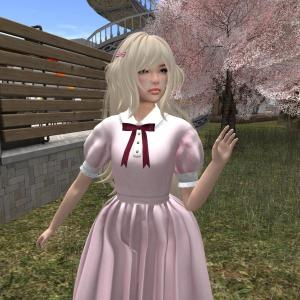 {Rosier} / Chihiro Dress / Maitreya Flat (Pink)