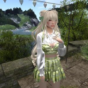 :uzu: Anna Outfit - green