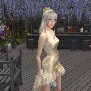 MOEKO Isha Dress - Vanilla