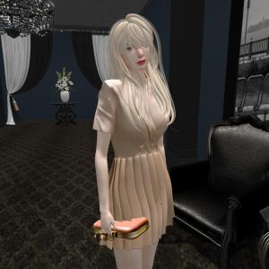 cheezu. amelia dress : beige