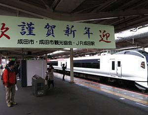 成田線・・・E653系「成田山常磐初詣号」 撮影記
