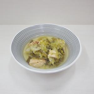 11/21鶏とキャベツ和風生姜スープ、シーフードドリア、亀田の柿の種ミルクチョコ&ホワイトチョコ