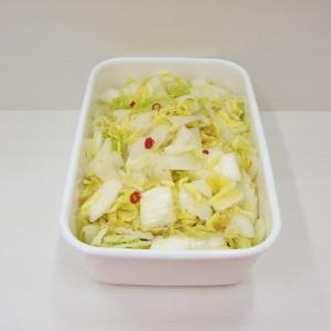 12/3辣白菜、里芋の煮っころがし、HERSHEY'S GOLDソルティキャラメルシュークリーム