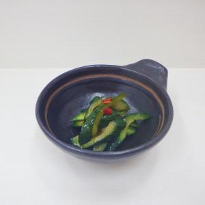 1/19胡瓜の甘酢漬、オーブンで作るヘルシー大学芋、高たんぱく!豆腐皮サラダ、ヨッポギ チーズ味