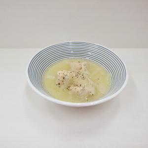 7/14大好評♫新玉葱と鶏肉のスープ、3種類の茄子で麻婆茄子、Kさま作のメロンと西瓜