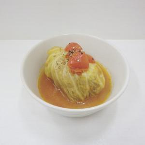 10/23大人味 小松菜の辛子和え、大成功☺︎♫ボリューミーでコク旨なトマト味のロールキャベツ