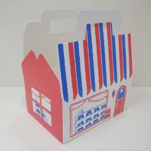 セリア購入品☺︎製菓に便利♫ドーム型フタ付きデザートカップ、かわいいケーキ屋さん柄ケーキボックス