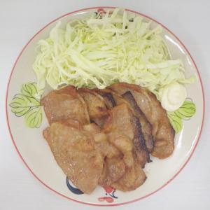 1/18無限&ヘルシー♫ピーマンともやしのカリカリじゃこサラダ、辛うま麻婆茄子、豚の生姜焼き☺︎