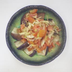 とろける果肉のイタリアン茄子で、夏らしい爽やかなひと皿♫